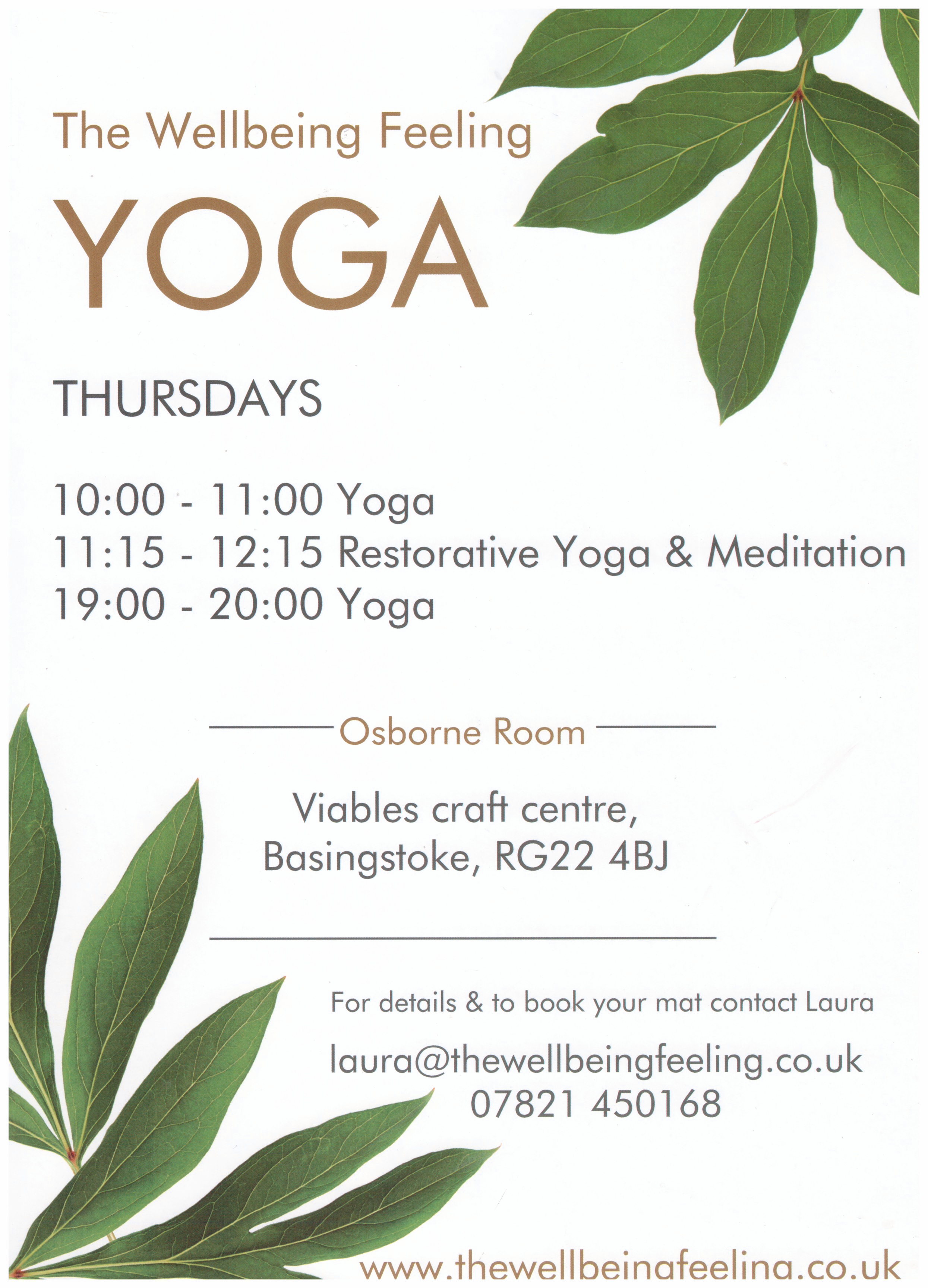 Yoga - The wellbeing feeling